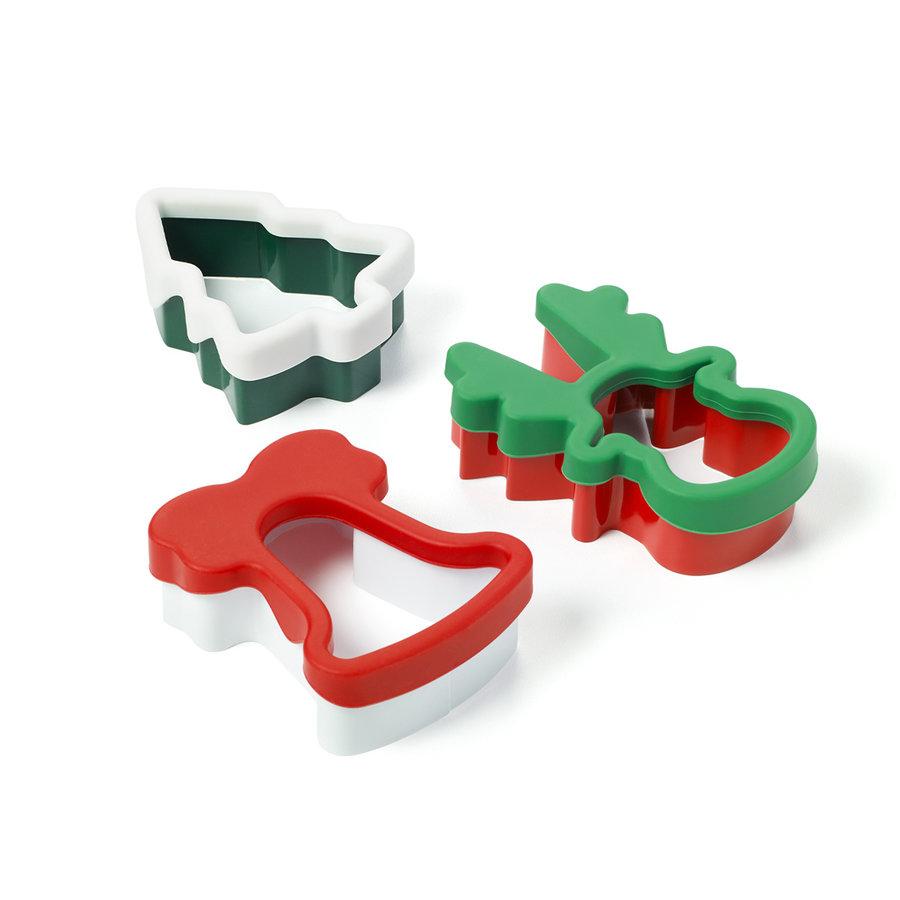 Emporte pièces recouverts de silicone pour Noël - Photo 0