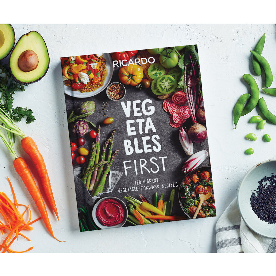 Livre <i>Vegetables First</i> (version anglaise) - Photo 0