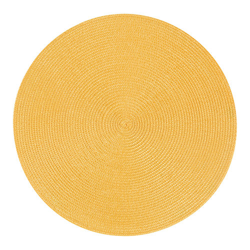 Yellow placemat