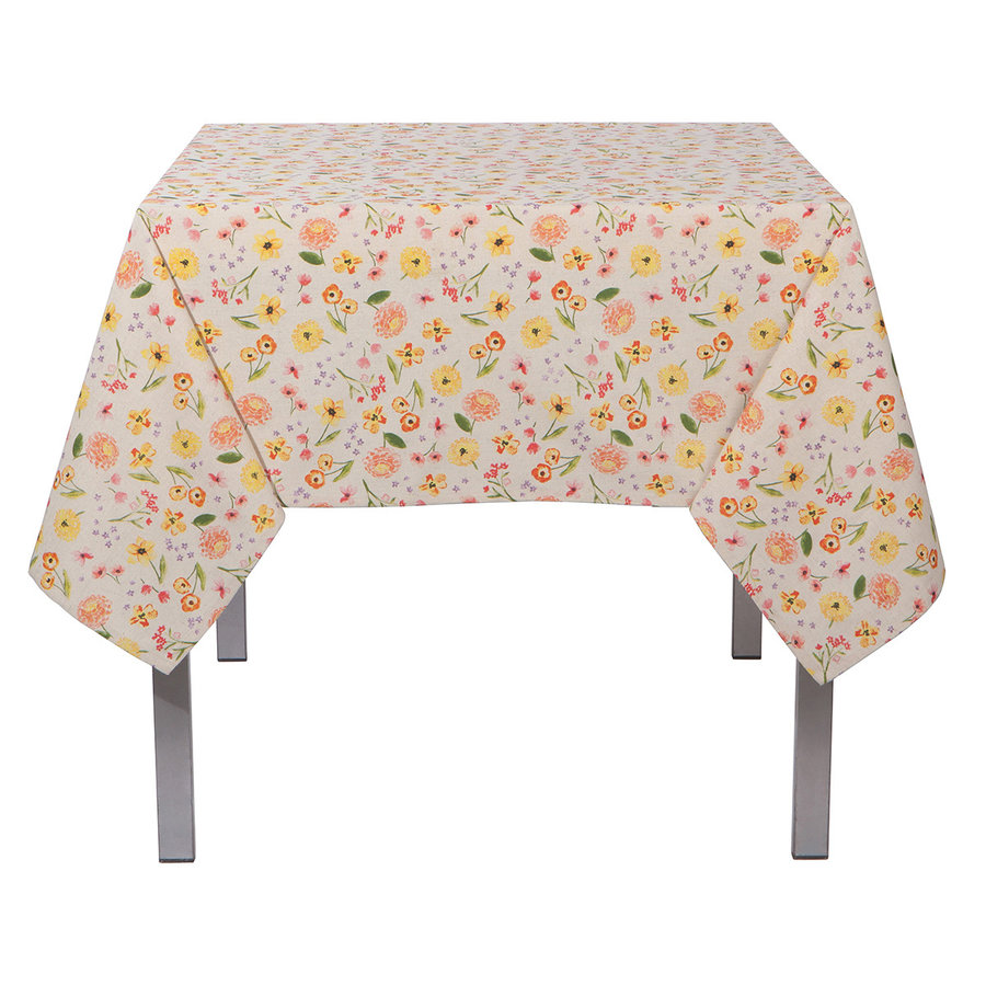 Tablecloth, Floral Print - Photo 0