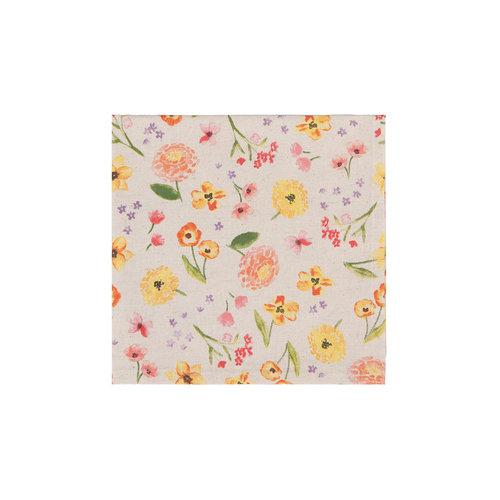 Napkin, Cottage Floral Print