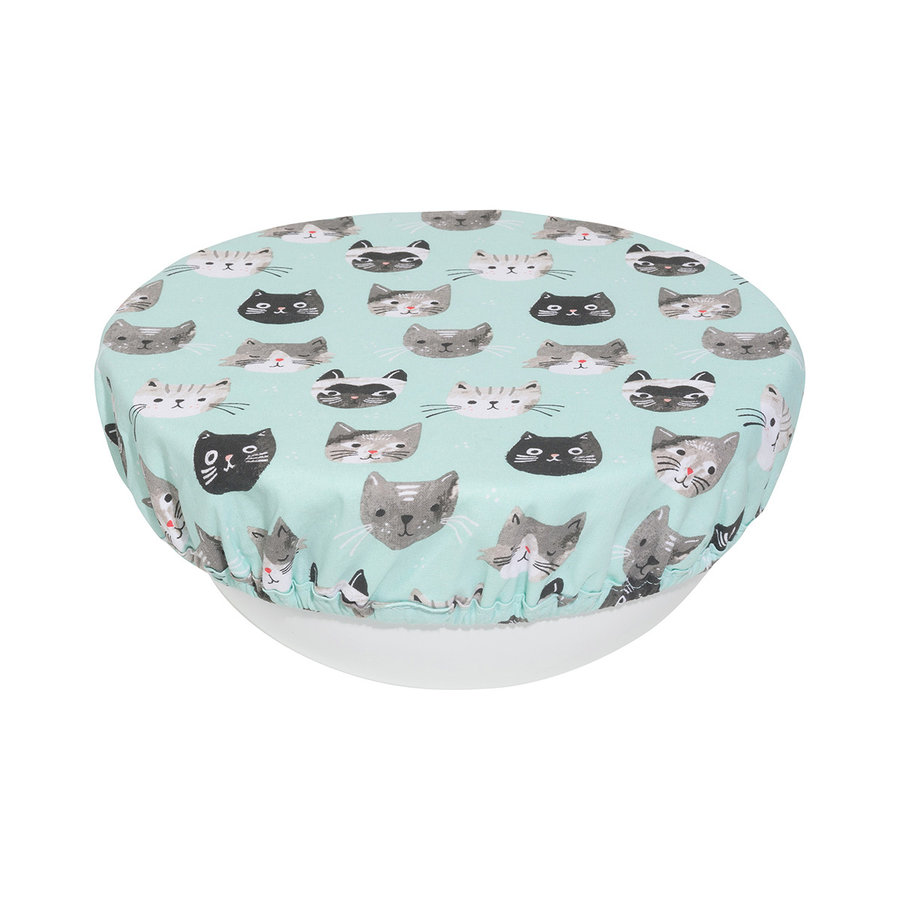 Bowl Covers, Cats Meow Print - Photo 1