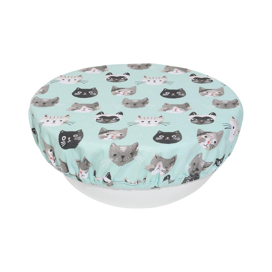 Couvre-bols, imprimé chats - Photo 1