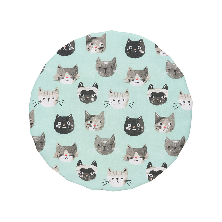 Bowl Covers, Cats Meow Print - Photo 3