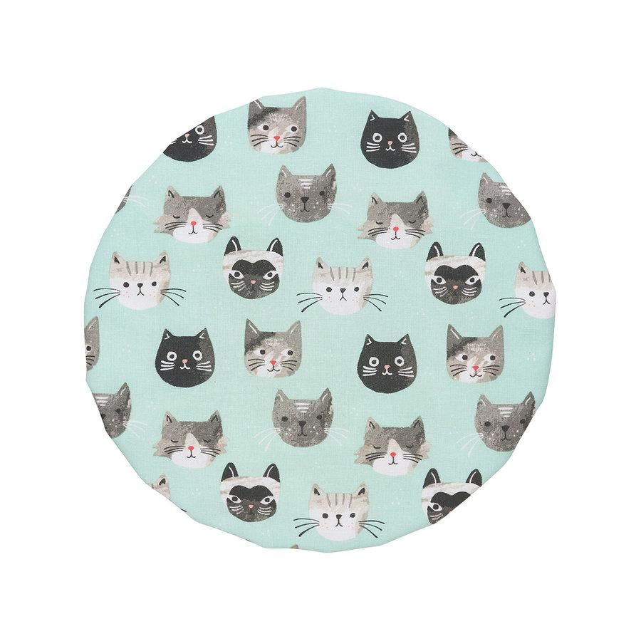 Couvre-bols, imprimé chats - Photo 3