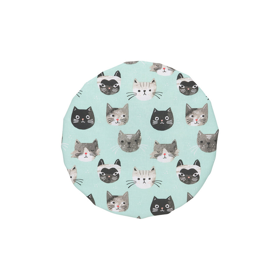 Bowl Covers, Cats Meow Print - Photo 4