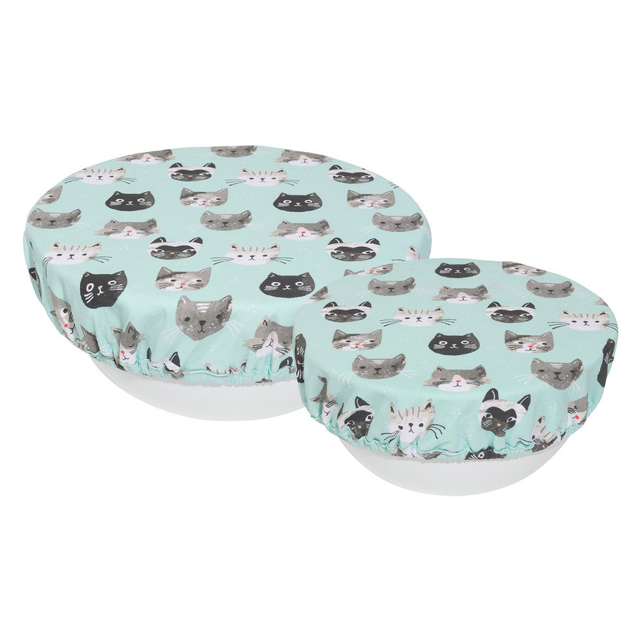 Bowl Covers, Cats Meow Print - Photo 0