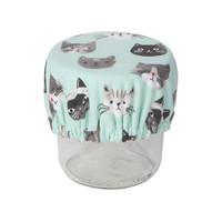 Mini couvre-bols, imprimé chats