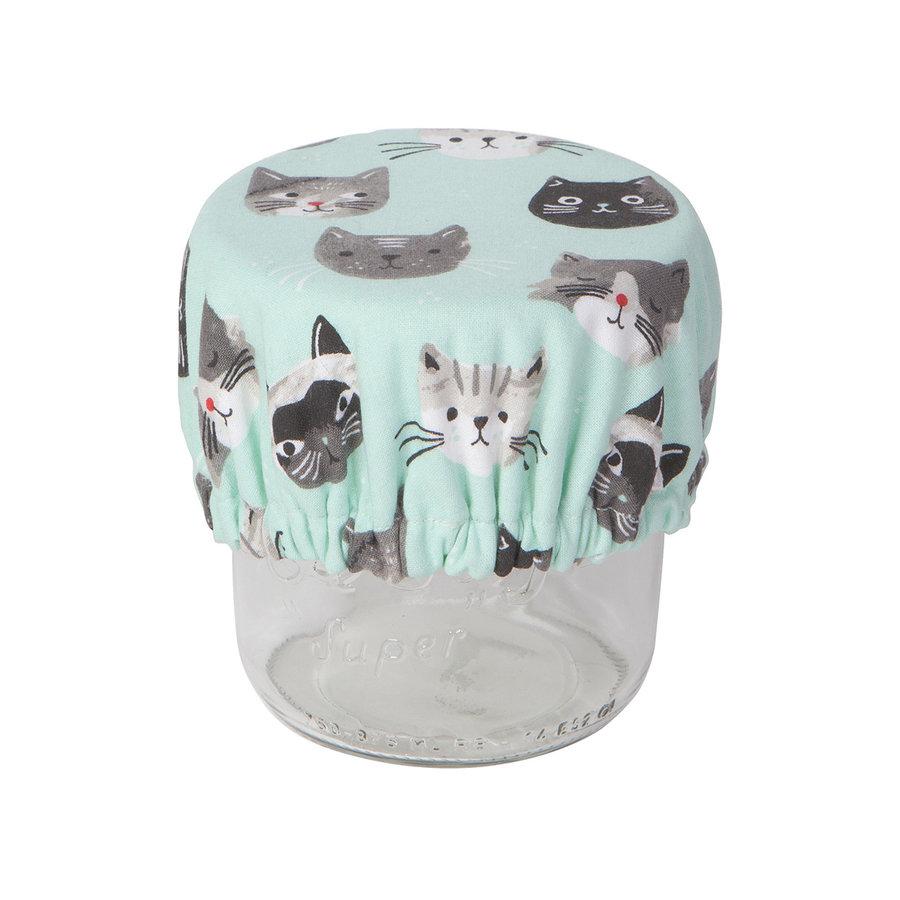 Mini couvre-bols, imprimé chats - Photo 3
