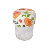 Mini Bowl Covers, Fruit Salad Print