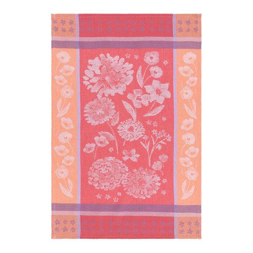 Dishtowel, Floral Print
