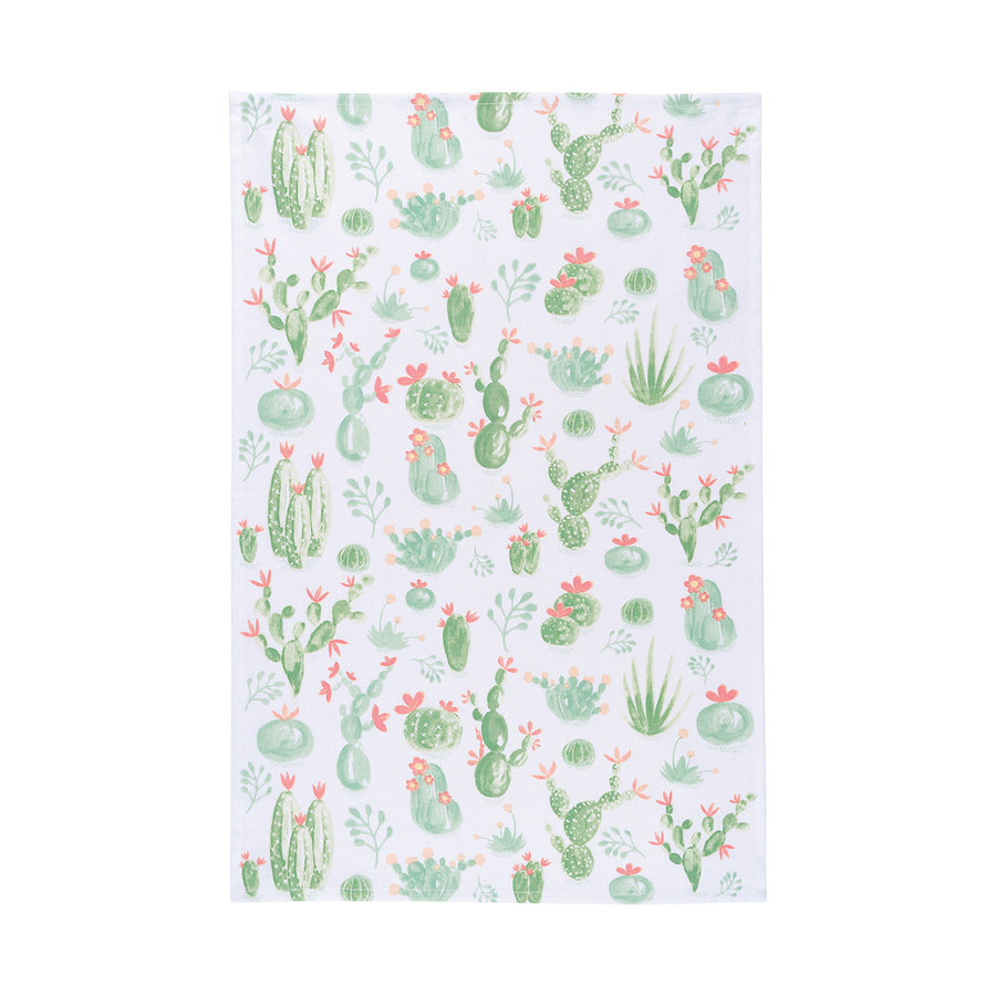 Dishtowel, Cactus Print - Photo 0