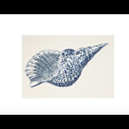 Seashell Print Placemat