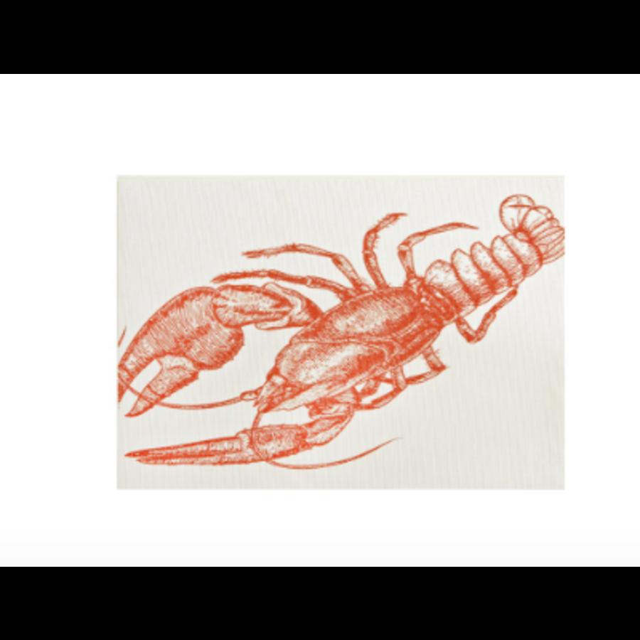 Napperon à imprimé homard - Photo 0
