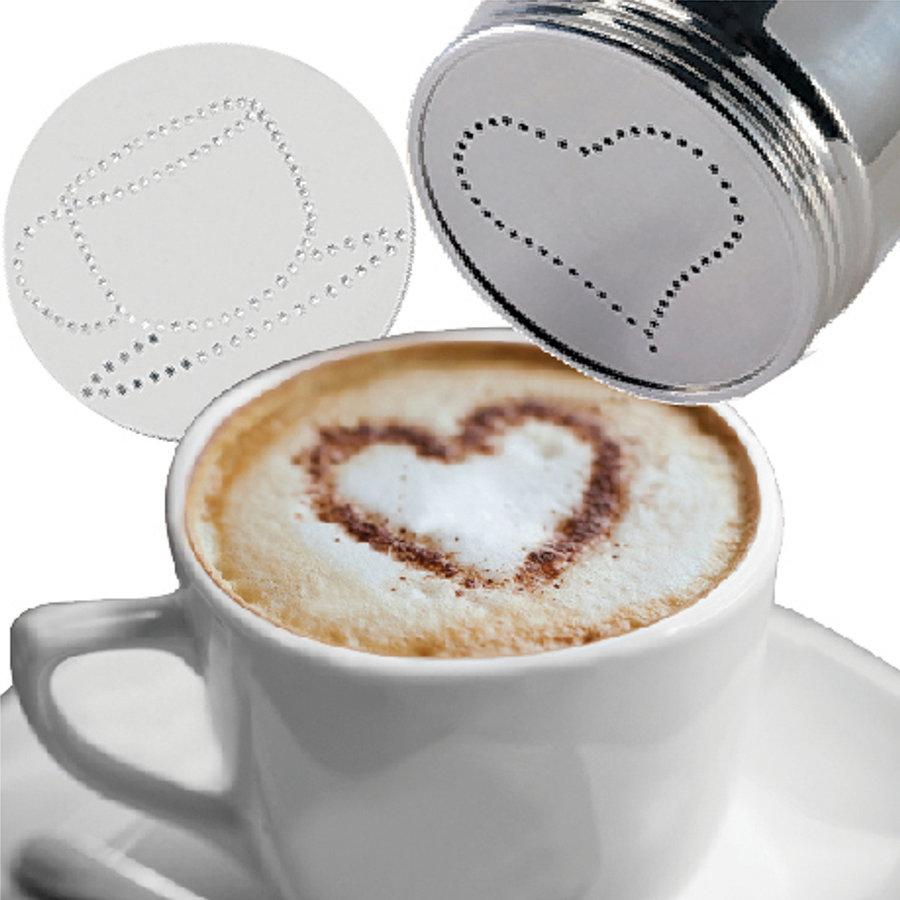 Saupoudreuse pour cappuccino Café Culture - Photo 1