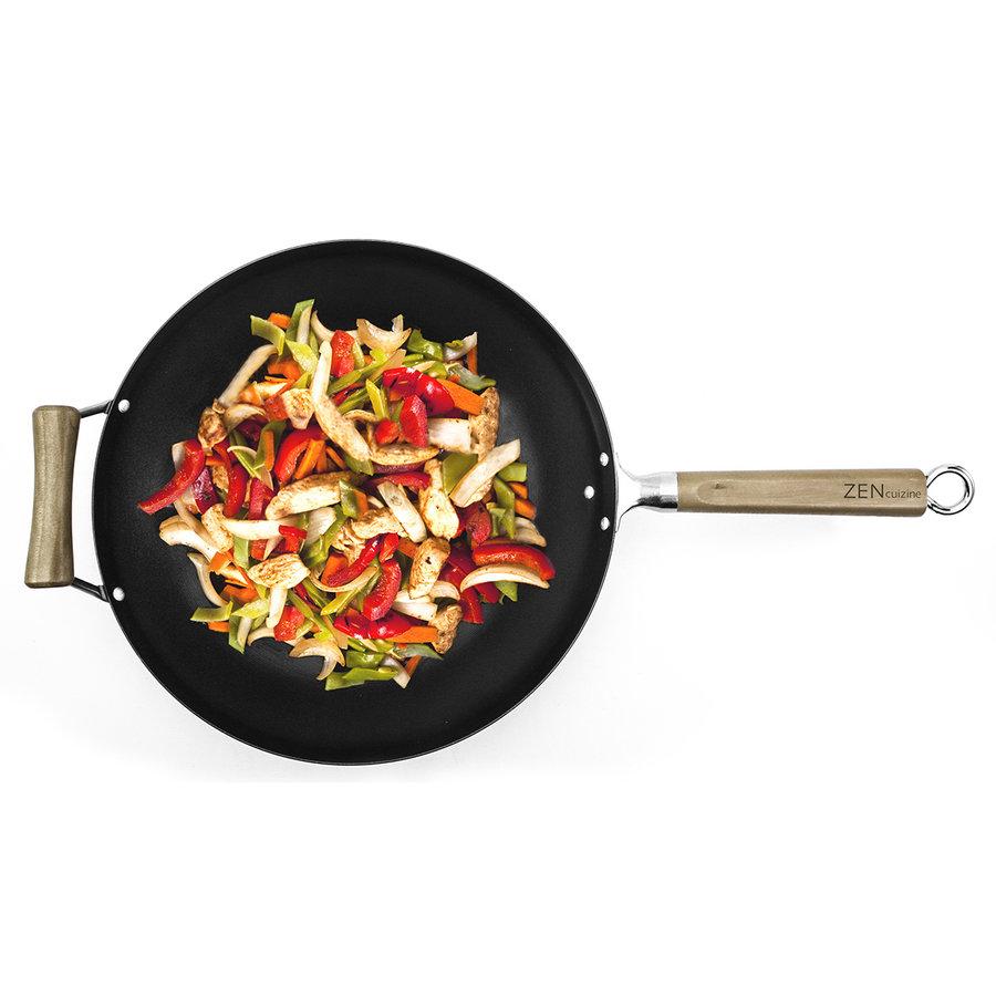 Wok professionnel antiadhésif Zen Cuisine - Photo 1