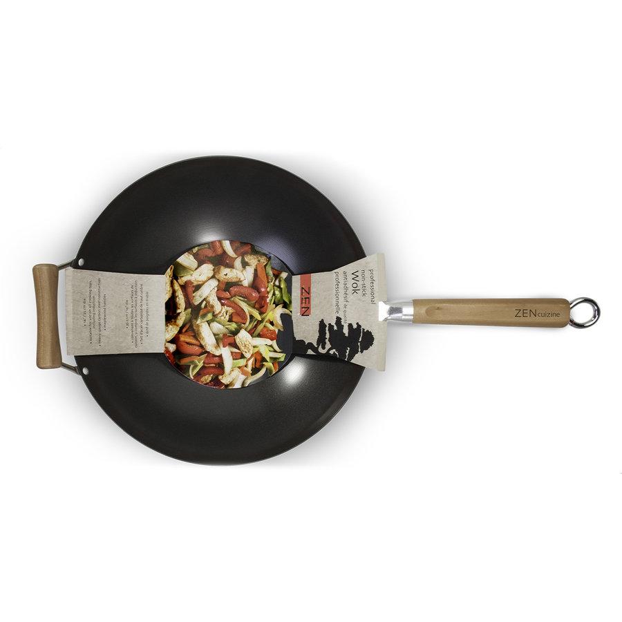 Wok professionnel antiadhésif Zen Cuisine - Photo 2