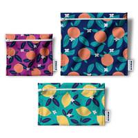 Demain Demain Summer Citrus Reusable Bag Trio