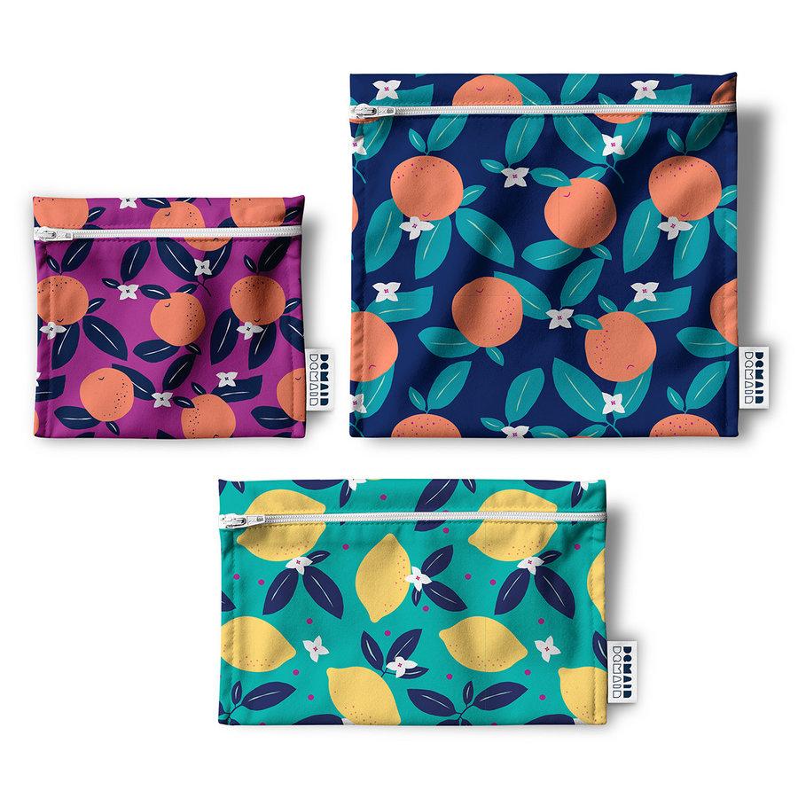 Demain Demain Summer Citrus Reusable Bag Trio - Photo 0
