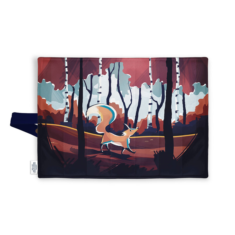 Demain Demain Forest Fox Lunchbox Placemat - Photo 1