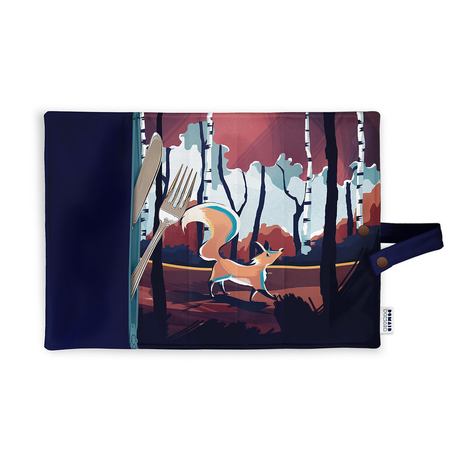 Demain Demain Forest Fox Lunchbox Placemat - Photo 0
