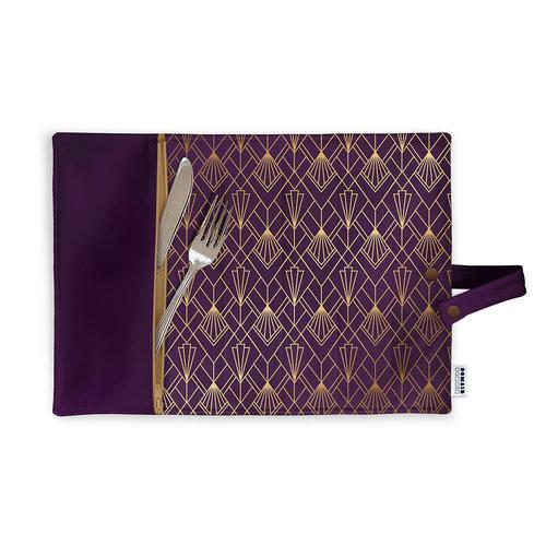 Demain Demain Art Deco Lunchbox Placemat