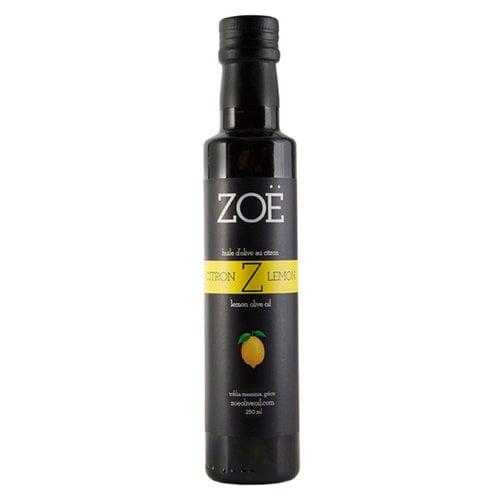 Huile d'olive infusée au citron Zoë