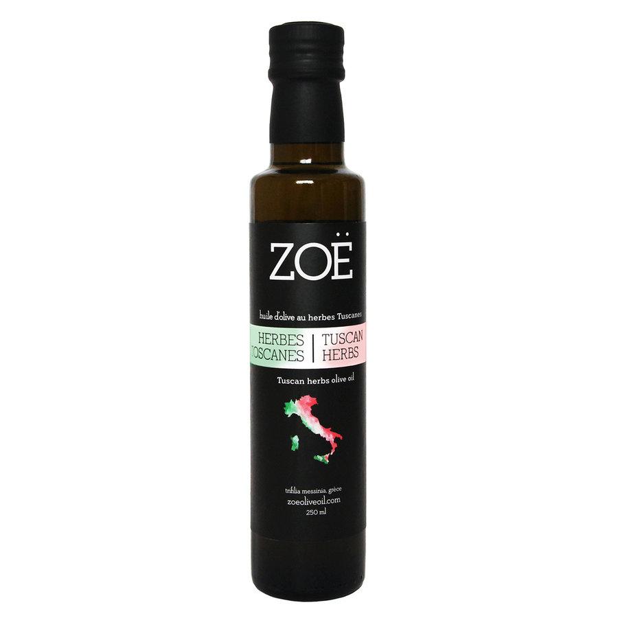 Huile d'olive infusée aux herbes de Toscane Zoë - Photo 0