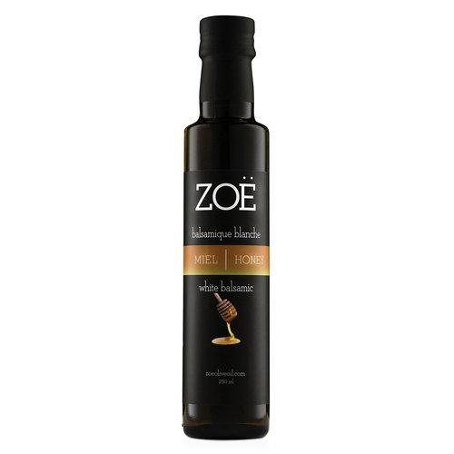 Vinaigre balsamique blanc infusé au miel Zoë