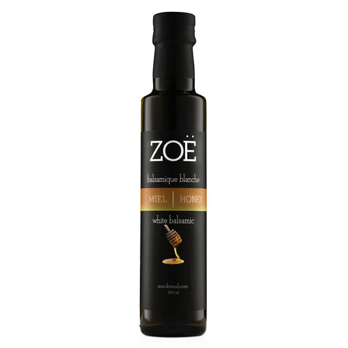 Zoë Honey Infused White Balsamic Vinegar