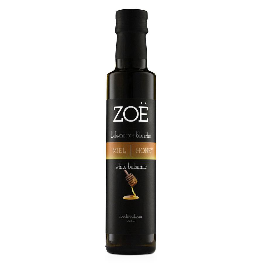 Vinaigre balsamique blanc infusé au miel Zoë - Photo 0