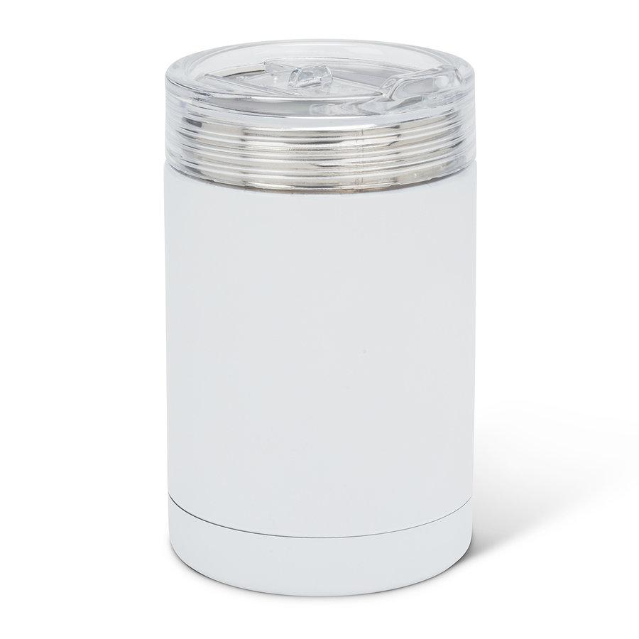 White Bevi Insulated Tumbler - Photo 0