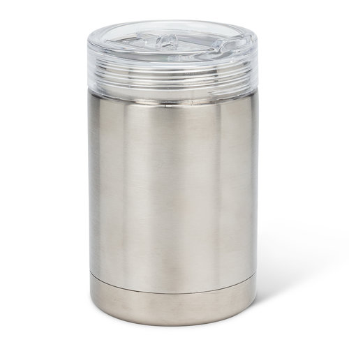 Silver Bevi Insulated Tumbler
