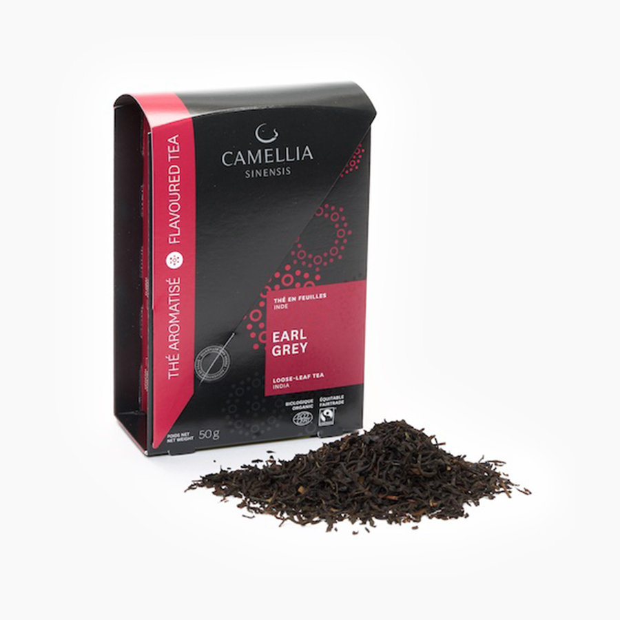 Thé noir en feuilles Earl Grey bio et équitable (boîte) *SS - Photo 0