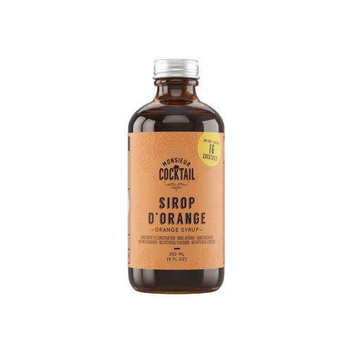 Monsieur Cocktail Orange Syrup
