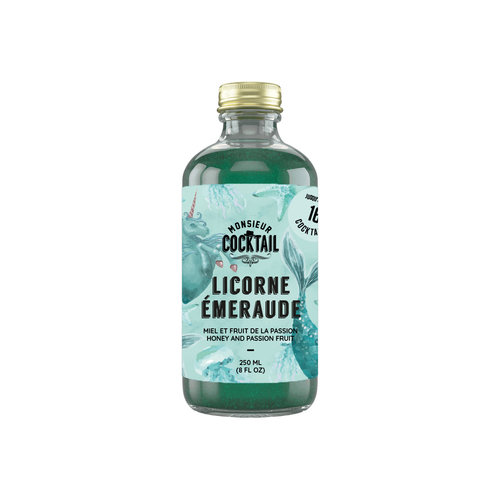 Monsieur Cocktail Emerald Unicorn Syrup