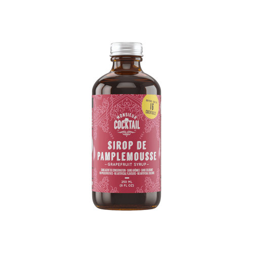 Monsieur Cocktail Grapefruit Syrup