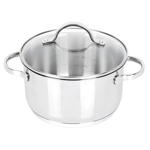 Orly / Joseph Strauss 6L Cooking Pot with Glass Lid