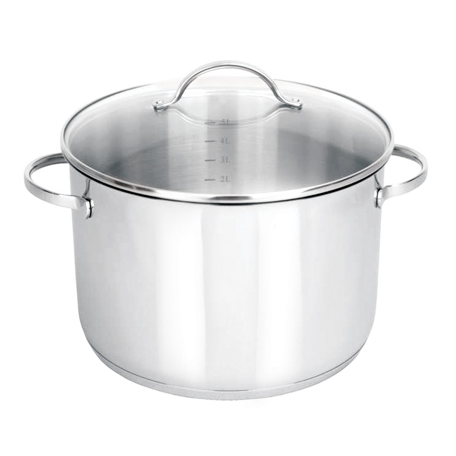 Orly / Joseph Strauss 16L Cooking Pot with Glass Lid - Photo 0