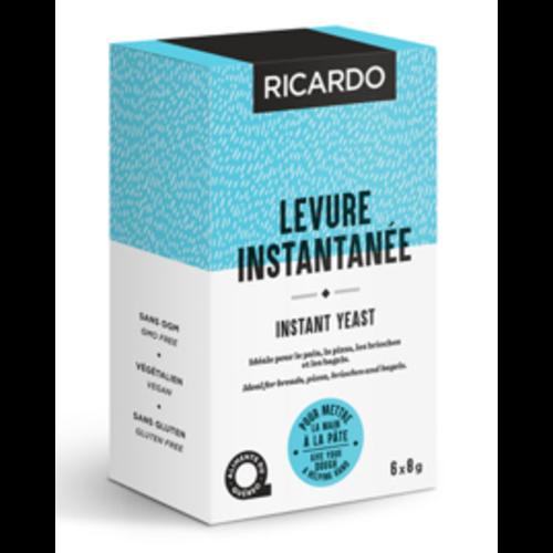 Levure instantanée RICARDO 6 sachets de 8 g