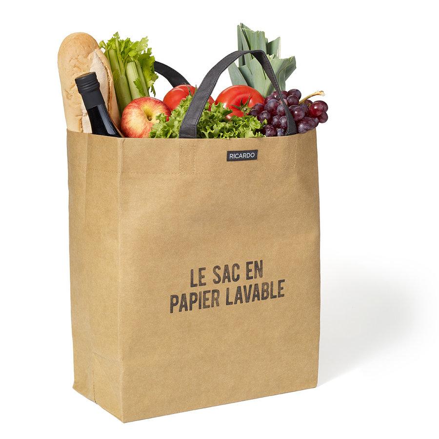 RICARDO Brown Paper Grocery Bag - Photo 0