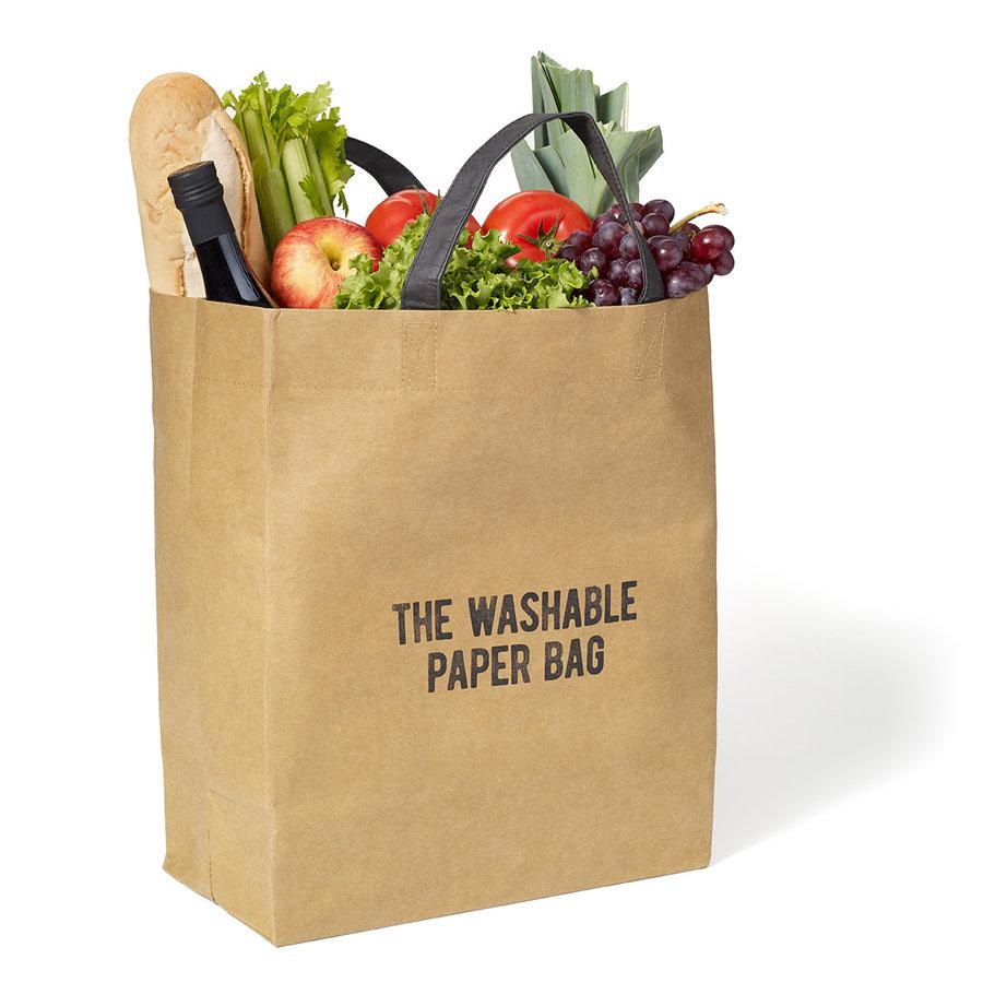 RICARDO Brown Paper Grocery Bag - Photo 3