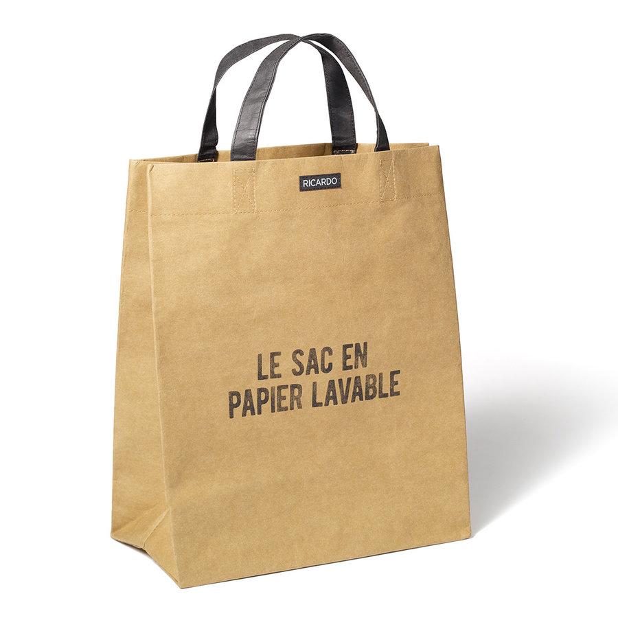 RICARDO Brown Paper Grocery Bag - Photo 1