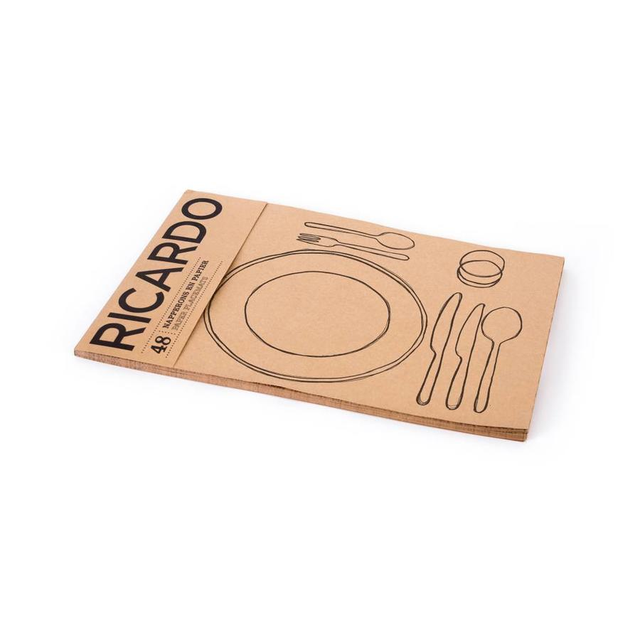 """Paper Placemats """"Table Settings"""" - Photo 1"""