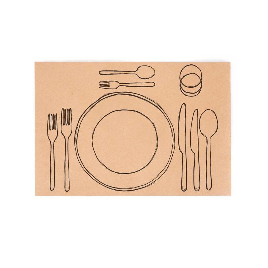 """Paper Placemats """"Table Settings"""" - Photo 0"""