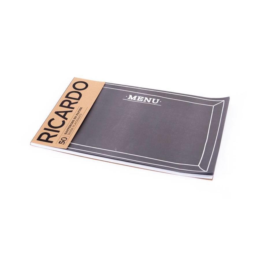 Napperons de papier «Ardoise» - Photo 1