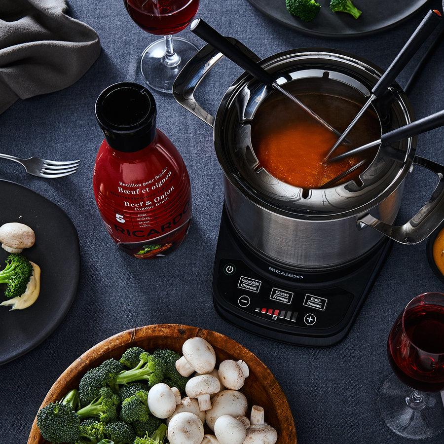 Bouillon à fondue RICARDO - Bœuf et oignon - Photo 1