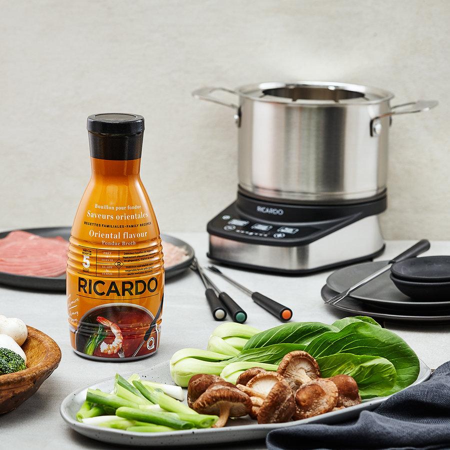 Bouillon à fondue RICARDO - Saveurs Orientales - Photo 1