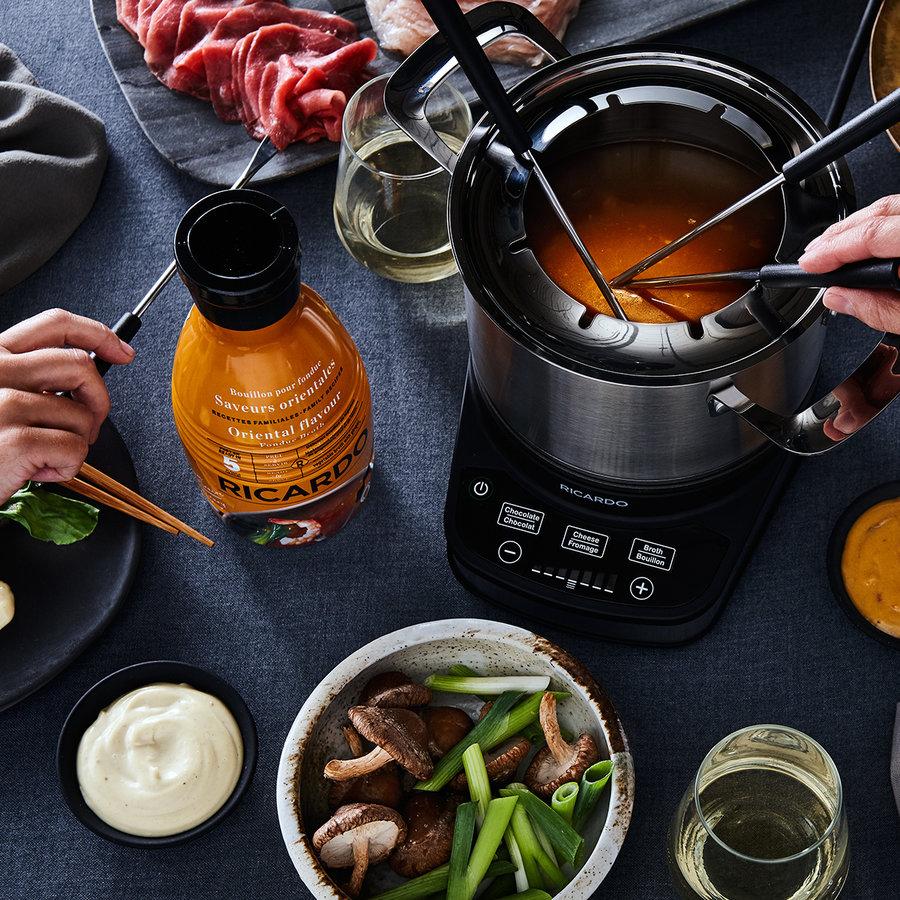 Bouillon à fondue RICARDO - Saveurs Orientales - Photo 2