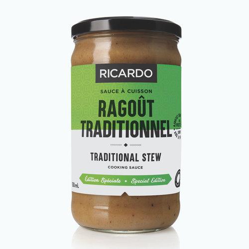 Sauce à cuisson Ragoût Traditionnel de 630 ml